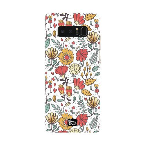 Big Flowers - Samsung Galaxy Note 8 Phone Cover - Alicia Souza