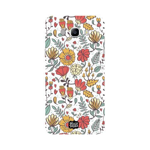 Big Flowers - Samsung Galaxy J7 Phone Cover - Alicia Souza