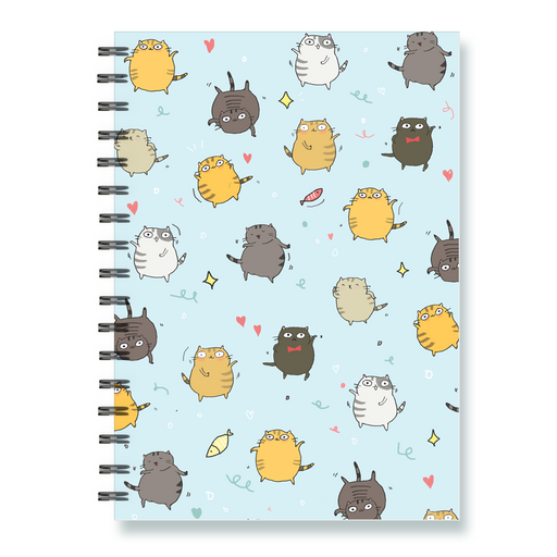 Dancing Cats Notebook