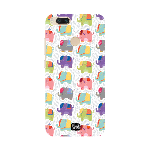Elephants - Xiaomi Mi A1 Phone Cover - Alicia Souza