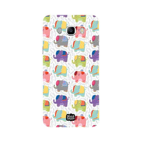Elephants - Samsung Galaxy J7 Phone Cover - Alicia Souza