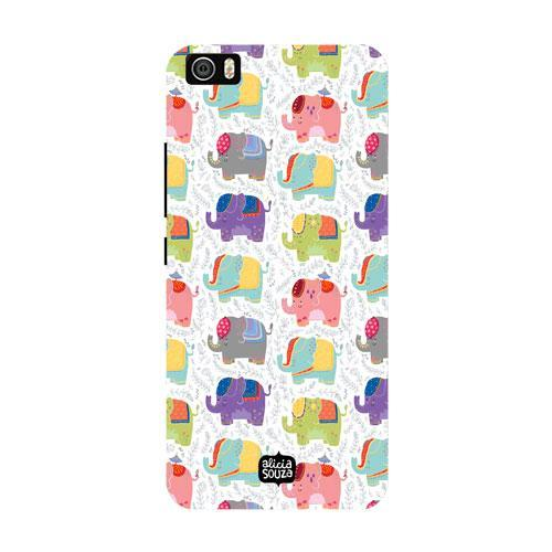 Elephants - Xiaomi Mi 5 Phone Cover - Alicia Souza