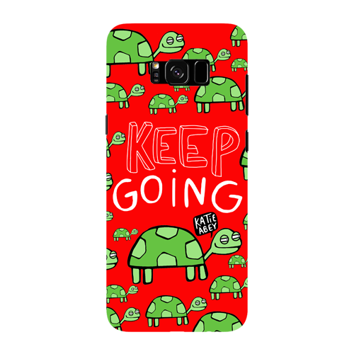 Keep Going - Samsung Galaxy S8 - Phone Cover