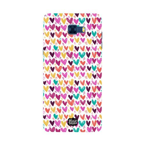 Hearts - Samsung Galaxy C7 Pro Phone Cover - Alicia Souza