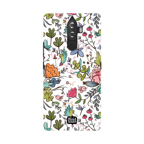 Humming Bird White - Lenovo K8 Note Phone Cover - Alicia Souza
