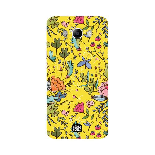 Humming Bird Yellow - Samsung Galaxy J7 Phone Cover - Alicia Souza