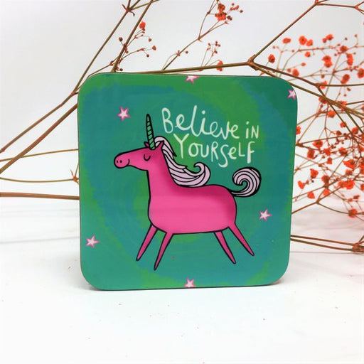 Believe in yourself Unicorn Coaster