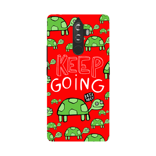 Keep Going - Lenovo K8 Note - Phone Cover