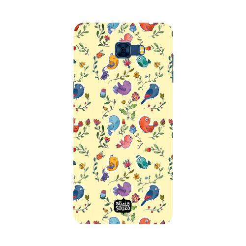 Little Birdie - Samsung Galaxy C7 Pro Phone Cover - Alicia Souza