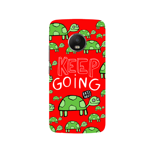 Keep Going - Moto G5 - Phone Cover
