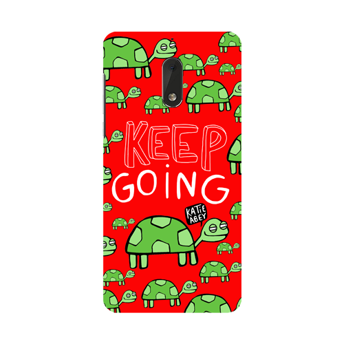 Keep Going - Nokia 6 - Phone Cover