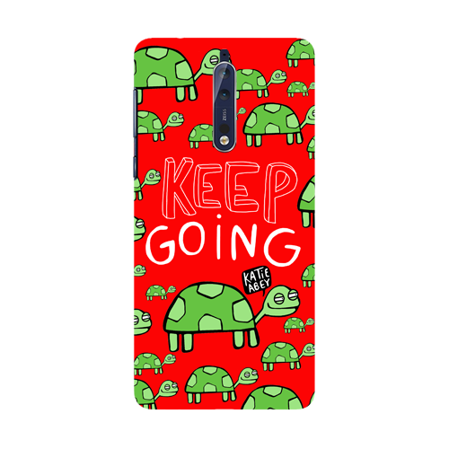 Keep Going - Nokia 8 - Phone Cover