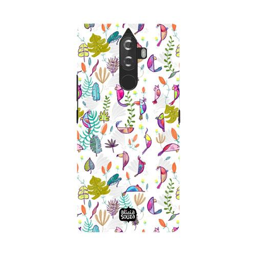 Parrots and Peace White - Lenovo K8 Note Phone Cover - Alicia Souza