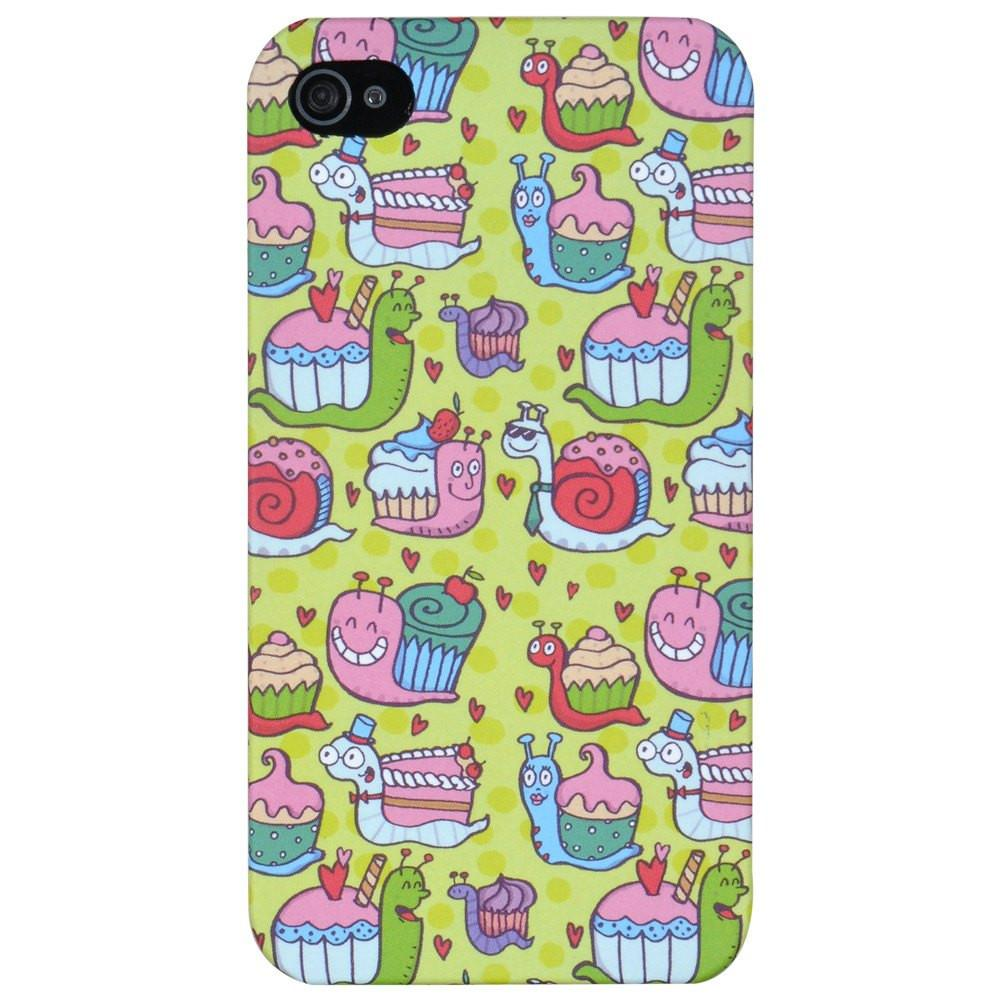 Snail Pace - iPhone 4 /4S phone cover - Alicia Souza