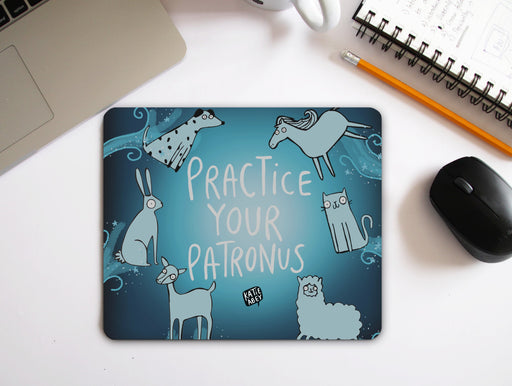 Practice Your Patronus Mouse Pad