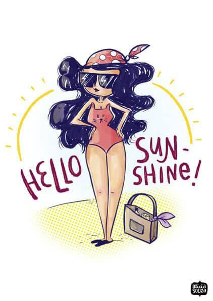 Sunshine Decal - Alicia Souza