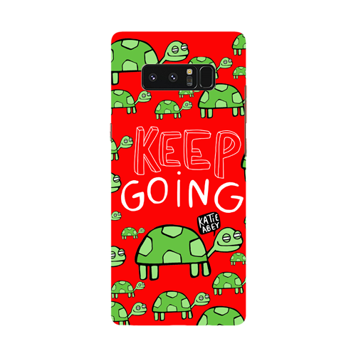 Keep Going - Samsung Galaxy Note - Phone Cover