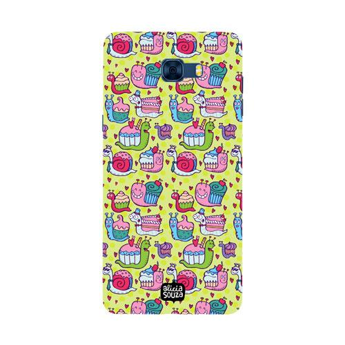 Snail Pace - Samsung Galaxy C7 Pro Phone Cover - Alicia Souza
