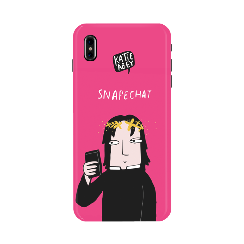 Snapechat - iPhone X Phone Cover
