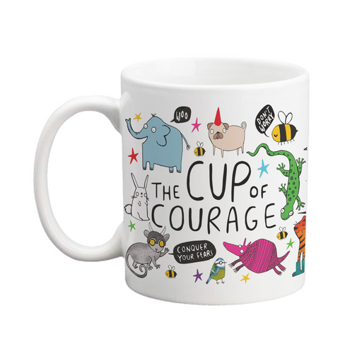 The Cup Of Courage Mug