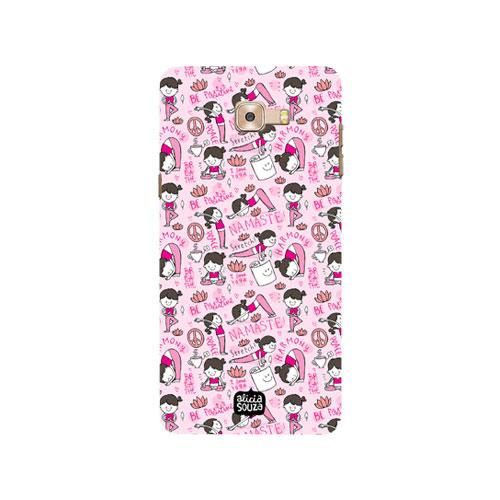Yoga - Samsung Galaxy C9 Pro -  Phone Cover - Alicia Souza