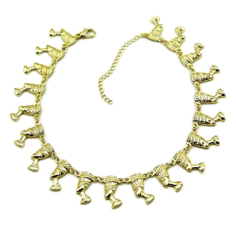 ALORAH ROSE NECKLACE 14kt