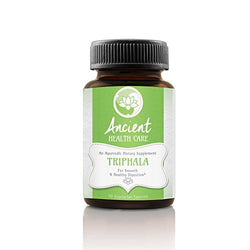 Ancient Health Care Premium Triphala - Digestion Support, Colon Cleanse, Weight Loss Supplement - Contains Amalaki, Haritaki and Bibhitaki - 90mg - 40% Tannins - 90 Veggie Capsules - Made in the USA - Mystic Mind Productions