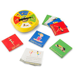 Yoga Spinner Sports Game With 54 Yoga Poses - 2-4 Player's
