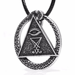 All Seing Eye Sigil Amulet Necklaces
