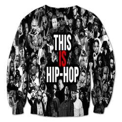 This Is Hip Hop Collage Sweater