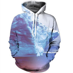 3D Space Galaxy Hoodie - Mystic Mind Productions