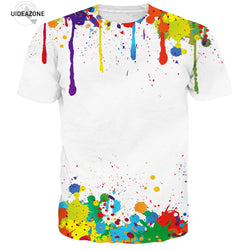 Abstract Colorful Painting T-Shirt - Mystic Mind Productions