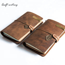 100% Vintage Genuine Leather Notebook