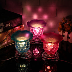 Dimmable Electric Fragrance Burner Candle Holder