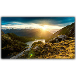 Modern Home Decoration Morning Sun Poster
