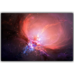 Cosmos Abstract Space Star Silk Poster - Mystic Mind Productions