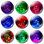 12 Constellation 30MM Fridge Magnet