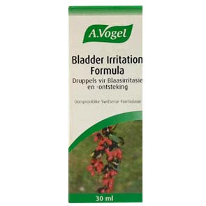 A. VOGEL BLADDER IRRITATION FORMULA 30ML