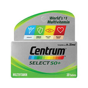 CENTRUM SELECT TABLETS 30