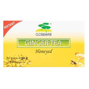 CLOSEMYER GINGER TEA 10 BAGS