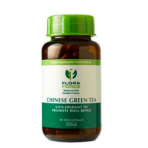 FLORA FORCE CHINESE GREEN TEA 400MG