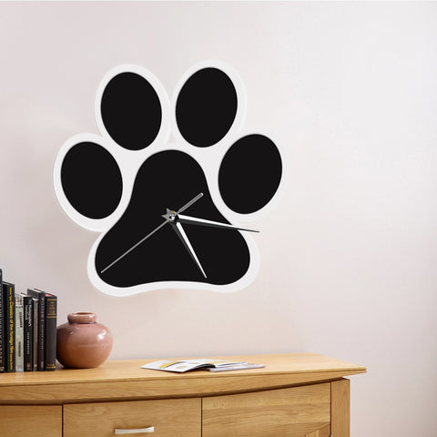 Doggy Paw Wall Clock