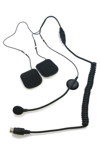 HS V130P - 7 Pin Headset with Boom Microphone for Victory, Can Am, and Kawasaki