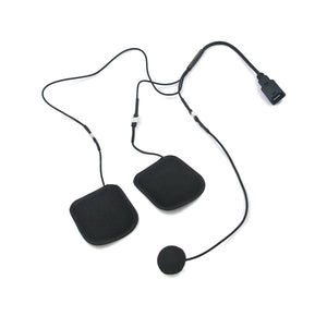 CL HG - Speaker Set with Full Face Soft Wire Microphone (Goldwing Only)