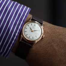 "1960 Rodina 14k RG Rare ""First Automatic Watch"""