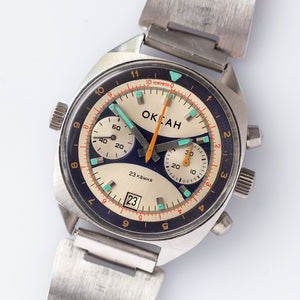1981 Okean Military Cal.3133 Chronograph
