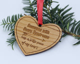 "Christmas Ornament Down Syndrome ""A Little Piece of My Heart"""