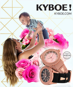 Happy Mother's Day with Kyboe Watches!