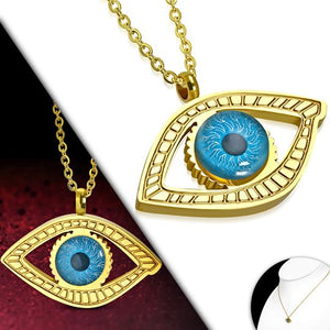 Evil Eye Charm Chain Necklace