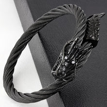 Bracelet - Cuff Bangle-Dragon -BLC073